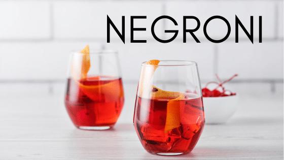 Negroni Cocktailrezept