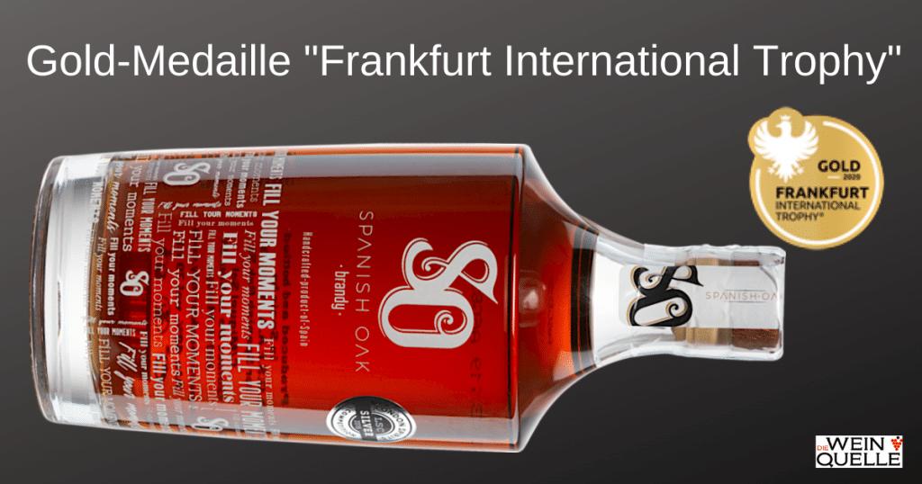 Spanish Oak Brandy Solera - Gewinner Frankfurt International Trophy