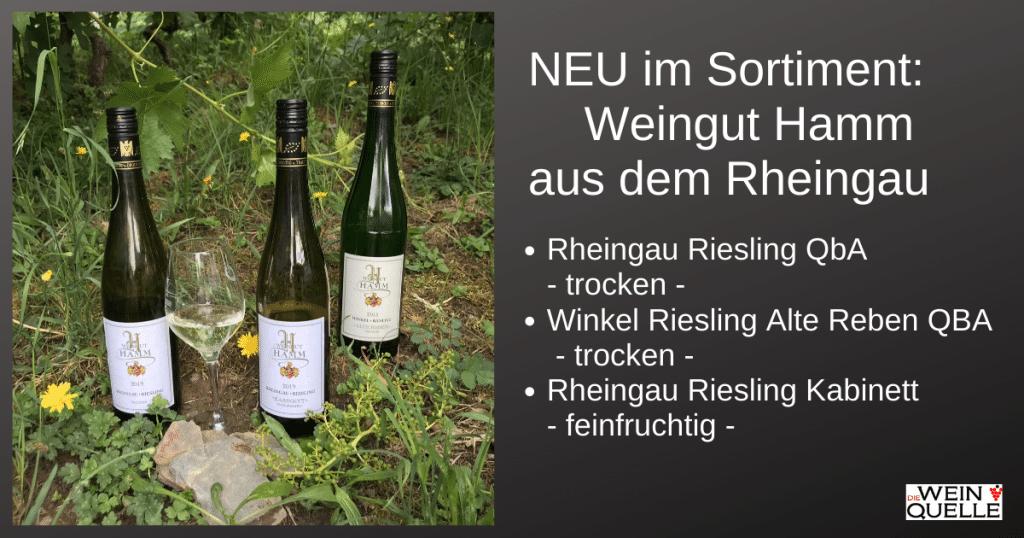 Neu im Sortiment: Weingut Hamm