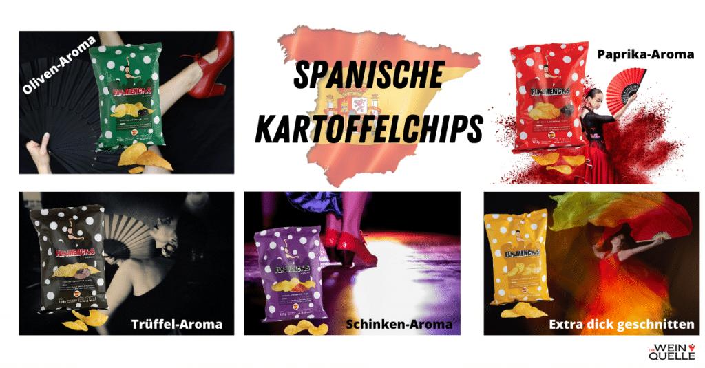 Kartoffelchips aus Spanien