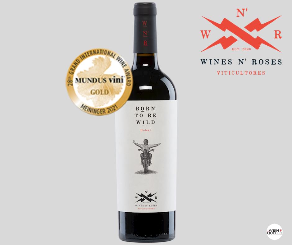 Gold-Medaillei - Mundus Vini - Rockwein