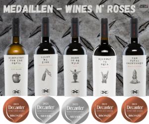 Rockweine erhalten Medaillen Decanter