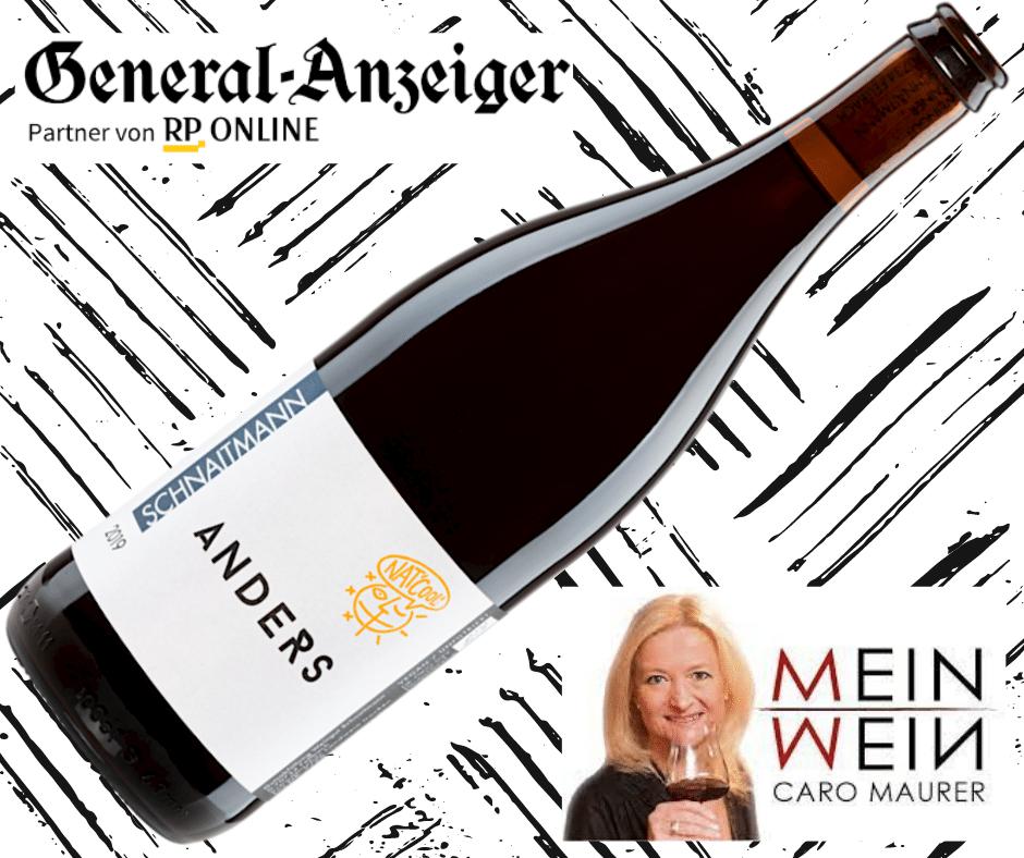 Rotweinempfehlung Caro Maurer Generalanzeiger Bonn