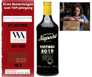 2019er Vintage von Niepoort - Hoch bewertet
